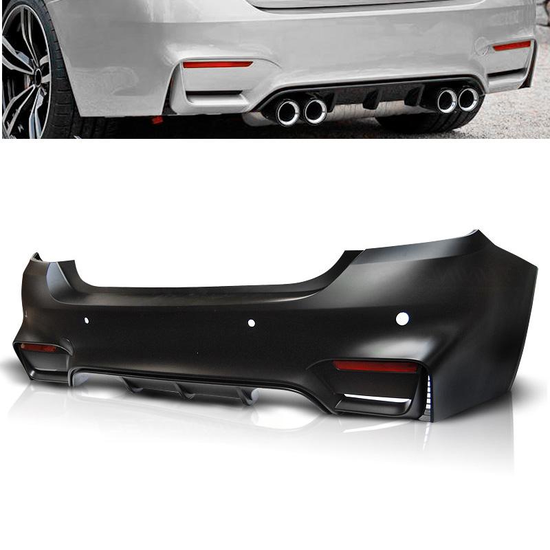 BMW F32/F33 10.13- M4 STYLE PDC hátsó lökhárító