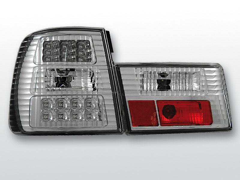BMW E34 02.88-12.95 Króm LED -es hátsó lámpa