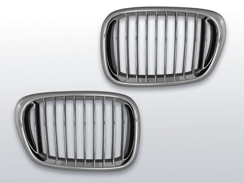BMW E39 09.95-06.03 Króm jelnélküli rács