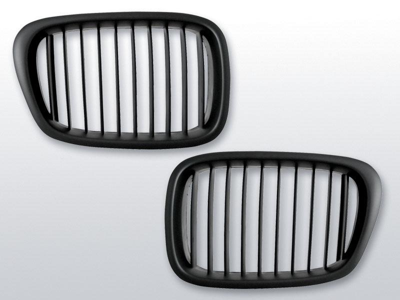 BMW E39 09.95-06.03 Fekete jelnélküli rács