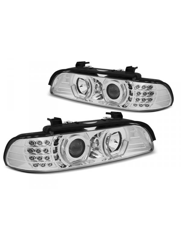 BMW E39 1995.09-2003.06 Króm Daylight Els? Lámpa
