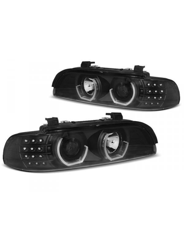 BMW E39 1995.09-2003.06 Fekete Daylight Elsõ Lámpa