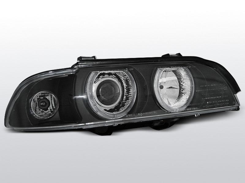 BMW E39 1995.09-2003.06 Fekete ANGEL EYES D2S/H7 Elsõ Lámpa