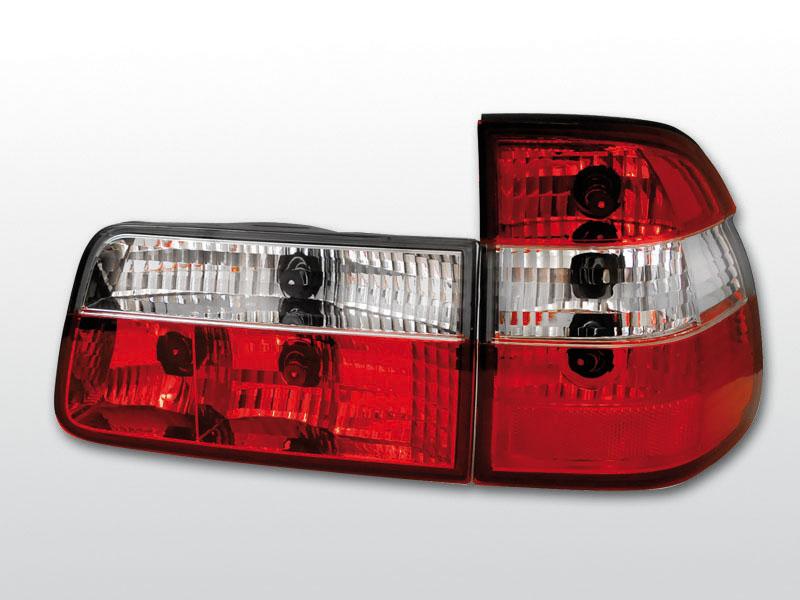 BMW E39 09.95-08.00 TOURING Piros Fehér hátsó lámpa