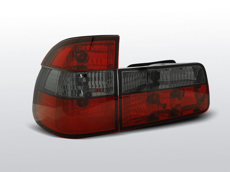 BMW E39 09.95-08.00 TOURING Piros-Füst Hátsó Lámpa