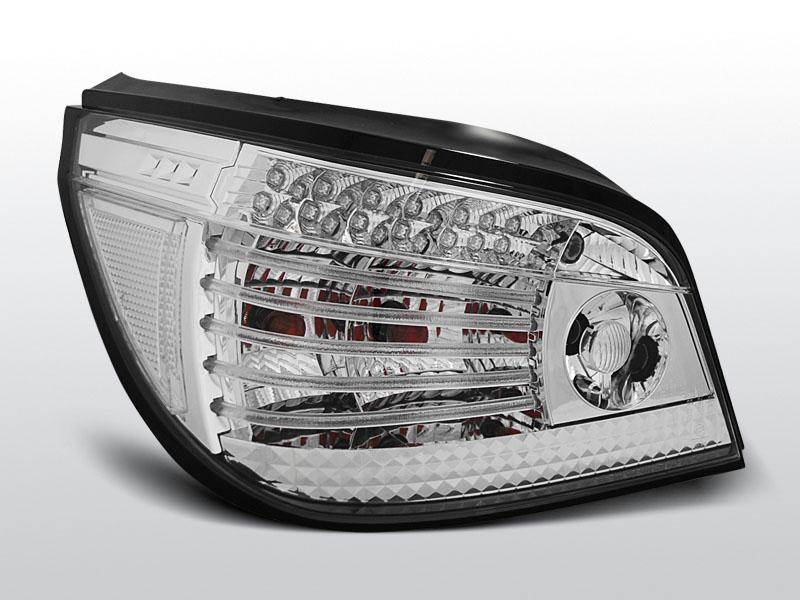 BMW E60 07.03-07 Króm LED -es hátsó lámpa
