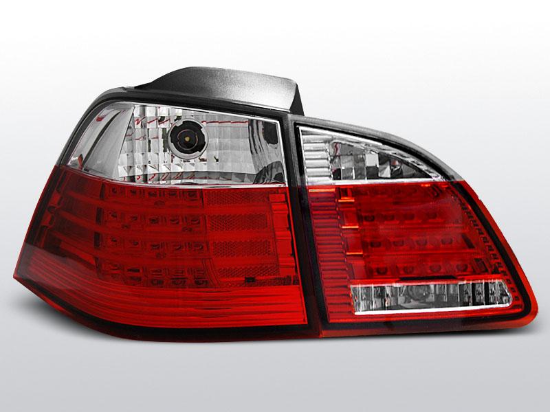 BMW E61 04-03.07 TOURING Piros Fehér LED -es hátsó lámpa