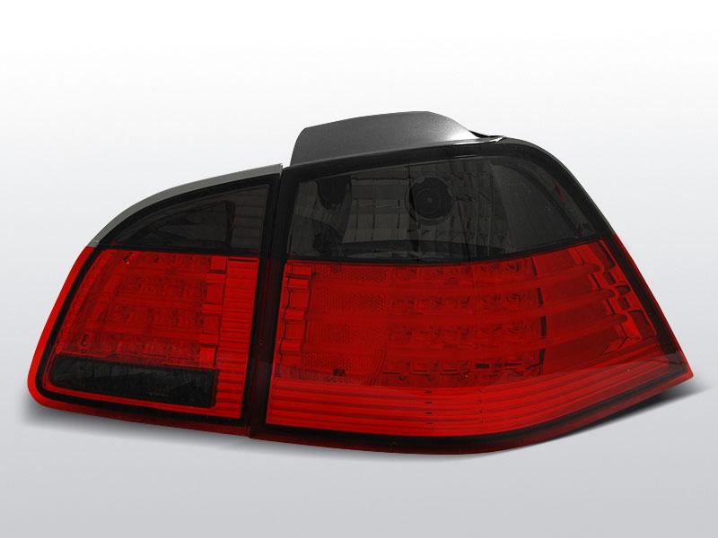 BMW E61 04-03.07 TOURING Piros Sötétített LED -es hátsó lámpa