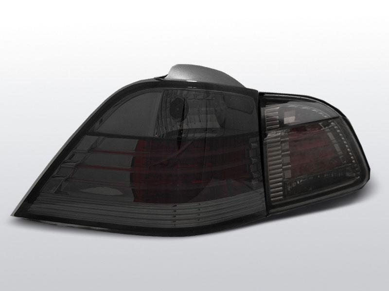 BMW E61 04-03.07 TOURING Sötétített LED -es hátsó lámpa