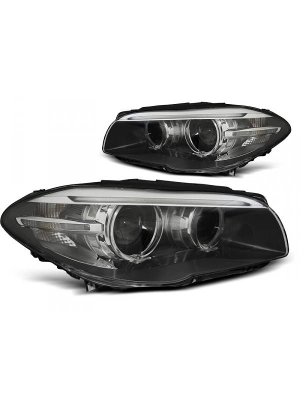 BMW F10/F11 2010-2013.07 Fekete LED AE DRL Elsõ Lámpa