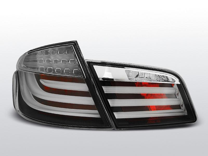BMW F10 10-07.13 Fekete LED BAR Hátsó lámpa