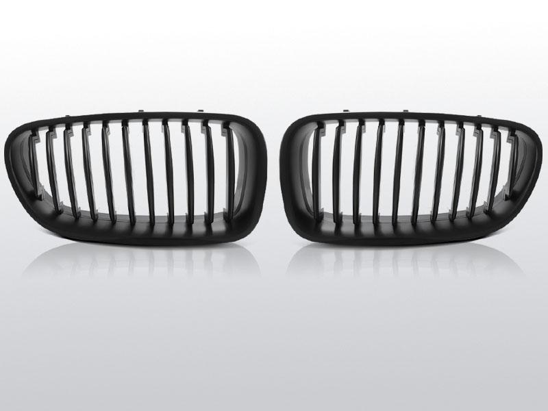 BMW F10/11 10- Fekete Jelnélküli rács