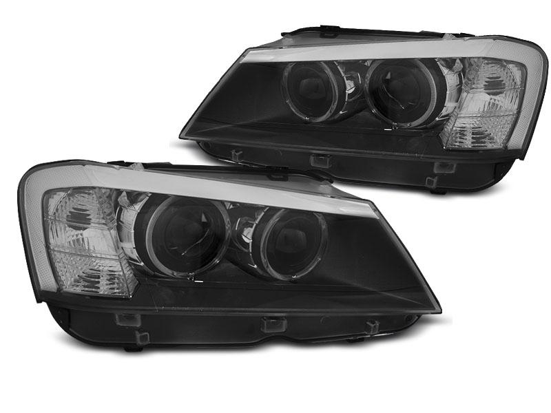 BMW X3 F25 2010-2014.07 Fekete LED Elsõ Lámpa