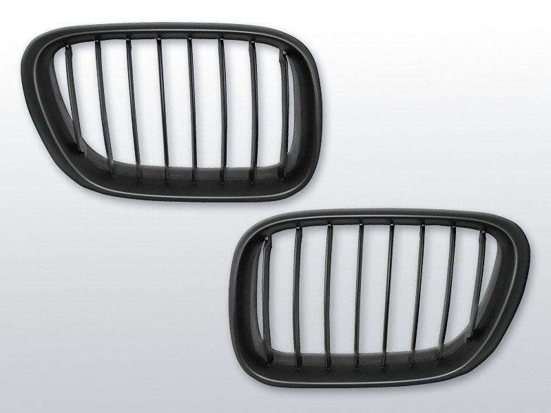 BMW X5 E53 09.99-10.03 Fekete jelnélküli rács