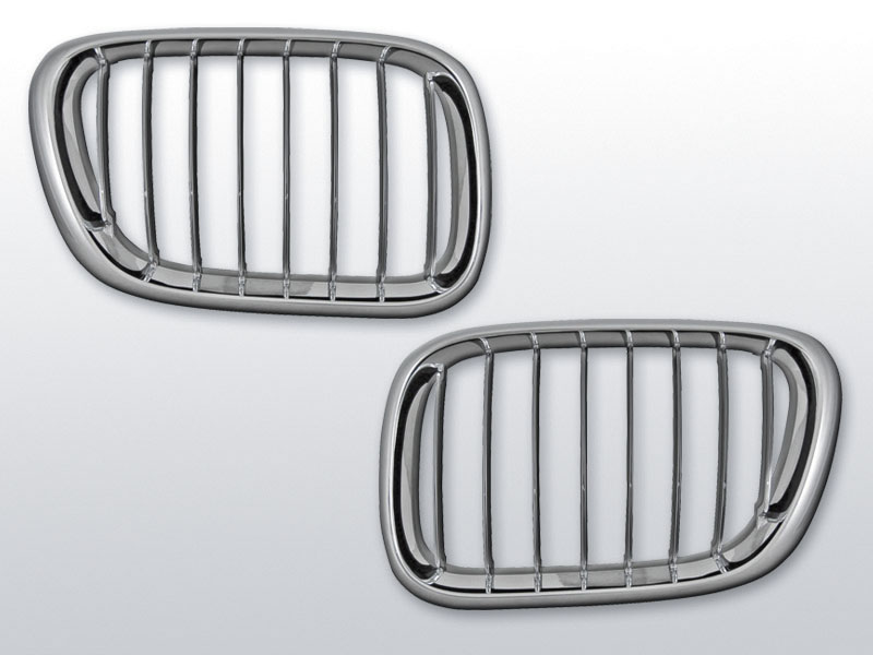 BMW X5 E53 09.99-10.03 Króm jelnélküli rács