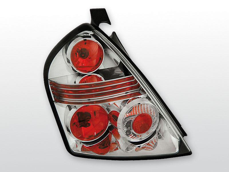 FIAT STILO 10.01-07 3D Króm hátsó lámpa