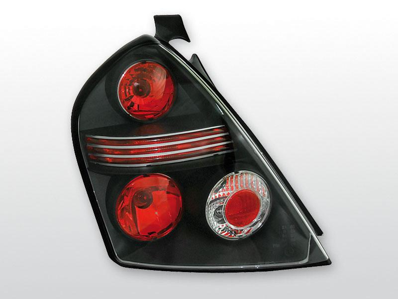 FIAT STILO 10.01-07 3D Fekete hátsó lámpa