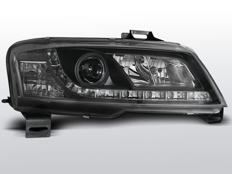 FIAT STILO 3D 2001.10-2008 Fekete Daylight Elsõ Lámpa