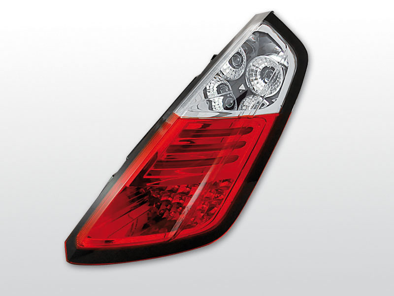 FIAT GRANDE PUNTO 09.05-09 Piros Fehér LED -es hátsó lámpa