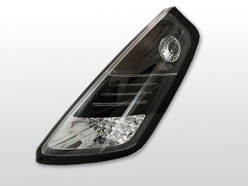 FIAT GRANDE PUNTO 09.05-09 Fekete LED -es hátsó lámpa
