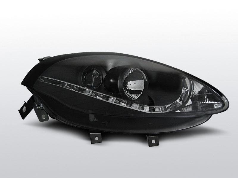 FIAT BRAVO II 2007-2015 Fekete Daylight Elsõ Lámpa