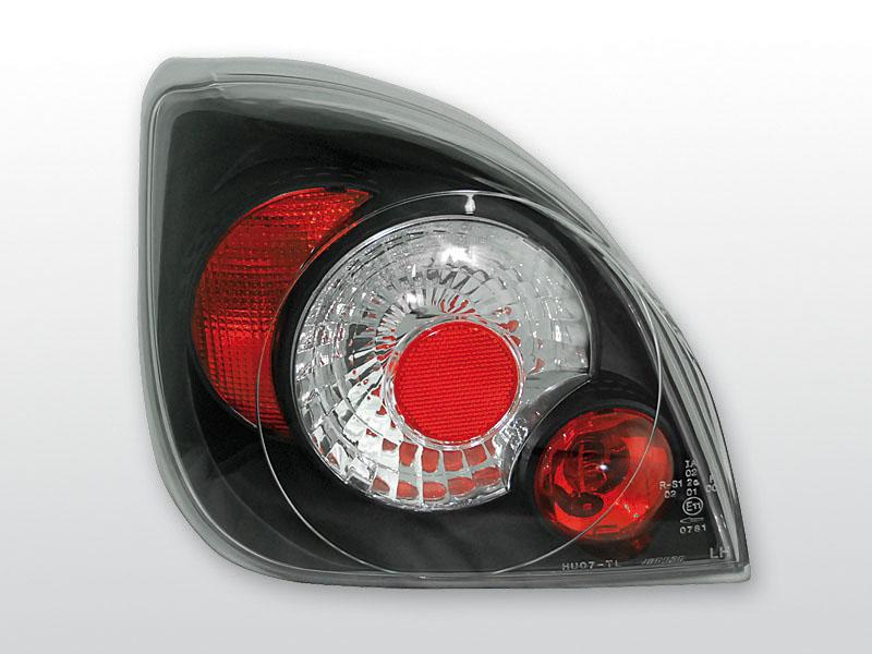 FORD FIESTA MK4 Fekete hátsó lámpa
