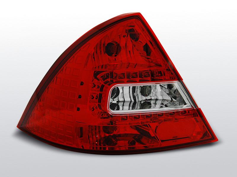 FORD MONDEO MK3 09.00-07 Piros-Fehér LED-es hátsó lámpa
