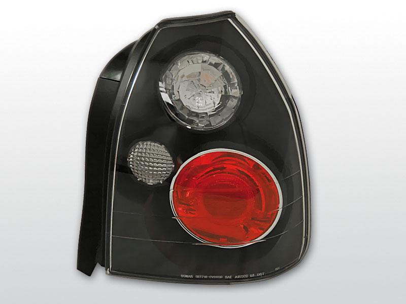 HONDA CIVIC 09.95-02.01 3D Fekete hátsó lámpa