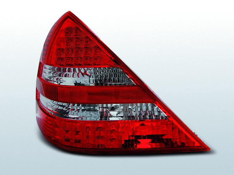 MERCEDES R170 SLK 04.96-04 Piros-Fehér LEDes Hátsó lámpa