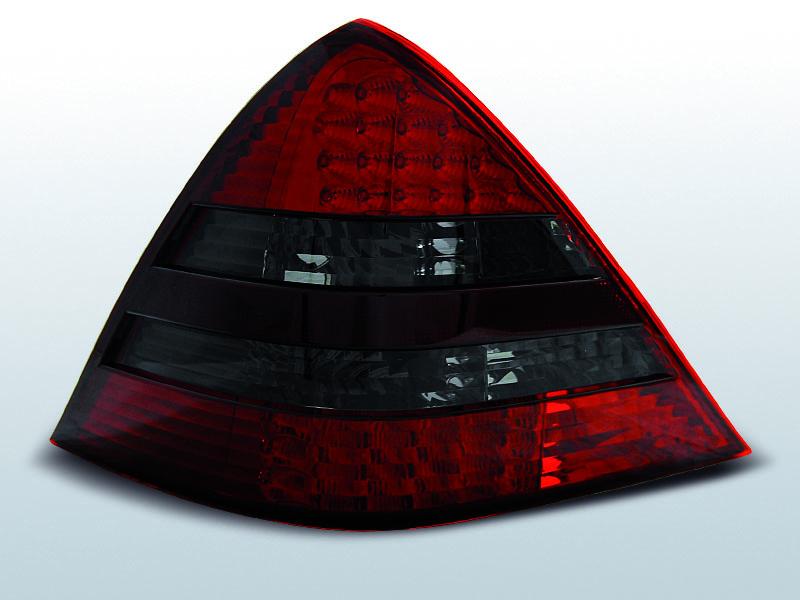 Mercedes R170 SLK 04.96-04 Piros Füstös Led hátsó lámpa