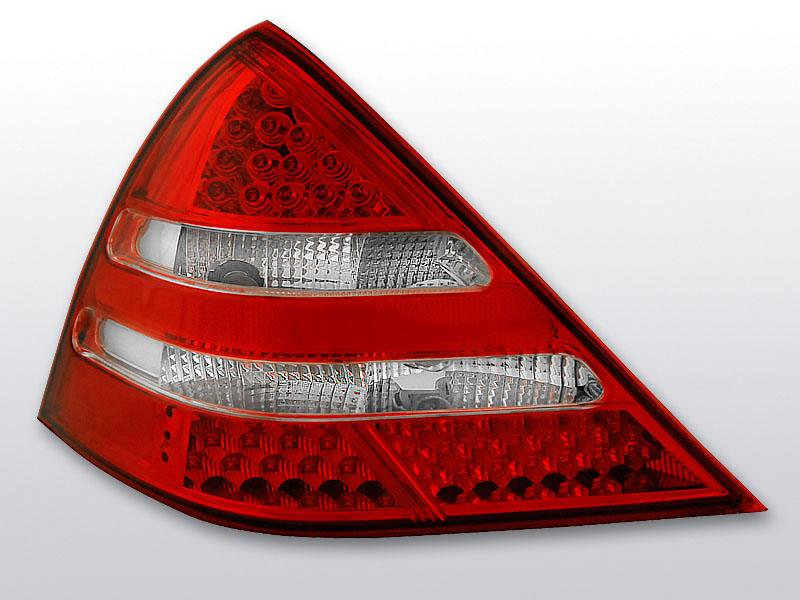MERCEDES R170 SLK 04.96-04 Piros Fehér LED -es hátsó lámpa