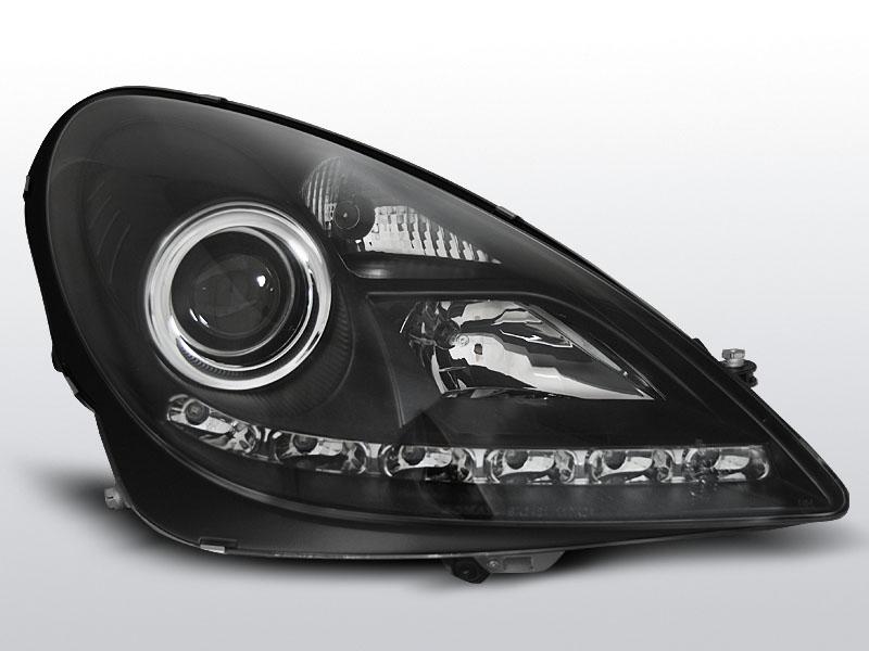 MERCEDES R171 SLK 2004-2011 Fekete Daylight Elsõ Lámpa