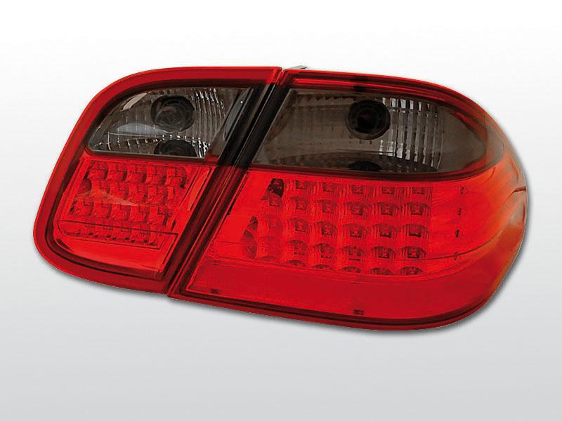 MERCEDES W208 CLK 03.97-04.02 Piros Sötétített LED -es hátsó lámpa
