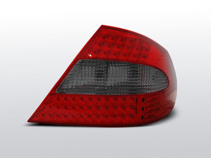 MERCEDES W209 CLK Piros-Füstös Led-es Hátsó lámpa 03-10