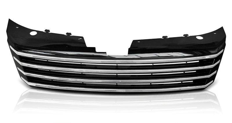 VW PASSAT B7 2010-2014 Króm Fekete Hûtõrács
