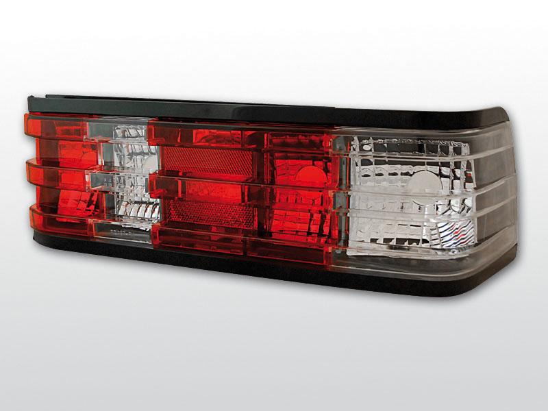 MERCEDES W201/190 12.82-05.93 Piros Fehér hátsó lámpa
