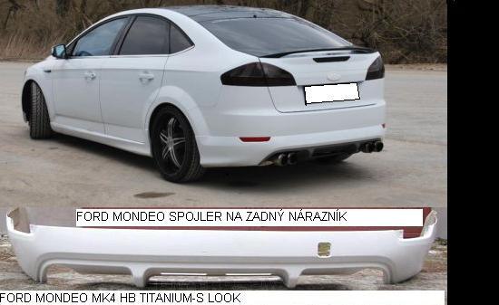 Ford Mondeo MK4 lökhárító toldat